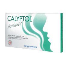 Calyptol Inalante Uso Esterno 10 Fiale 5 ml 005583024 Mucolitici e fluidificanti