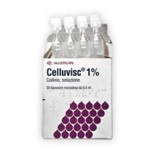 Celluvisc Collirio 30 Flaconcini 0,4ml 10mg/ml Colliri e Pomate Oftalmiche Idratanti
