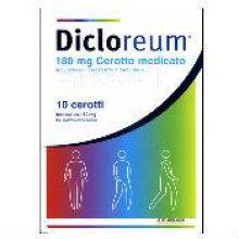 DICLOREUM ANTINFIAMMATORIO LOCALE* 10 CEROTTI MEDICATI DA 180MG Pomate, cerotti, garze e spray dermatologici