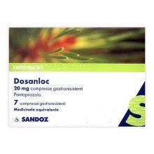 DOSANLOC* 7 COMPRESSE GASTRORESISTENTI DA 20MG Antiacidi