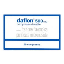 Daflon 30 Compresse Rivestite 500 mg Altri disturbi