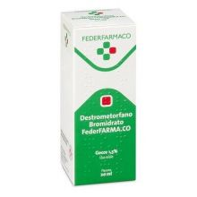 Destrometorfano Bromidrato FederFARMA.CO Gocce 20 ml 030261034 Farmaci Per La Tosse Secca