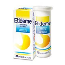 ETIDEME* 10 COMPRESSE EFFERVESCENTI DA 200MG Antiacidi