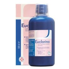 EUCLORINA 2,5%* FLACONE DA 500ML CON MISURINO DOSATORE Disinfettanti per la cute