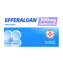 Efferalgan 10 Supposte 300 mg 026608101 Paracetamolo