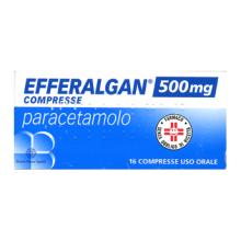 Efferalgan 16 Compresse 500 mg 026608125 Paracetamolo