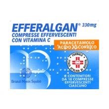 Efferalgan 20 Compresse Effervescenti 330mg+200mg 026608075 Farmaci per curare  raffreddore e influenza