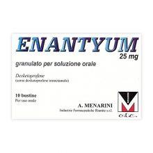 Enantyum 10 Bustine Granulato Orale 25 mg 033656214 Farmaci Antinfiammatori