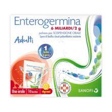 Enterogermina 10 Bustine 6 Miliardi 2g Fermenti lattici e intolleranza lattosio