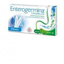 Enterogermina 10 Fiale Orali Da 2 Miliardi 5 ml 013046038 Fermenti lattici e intolleranza lattosio