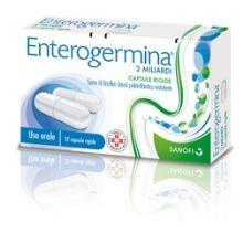 Enterogermina 12 Capsule Da 2 Miliardi Fermenti lattici e intolleranza lattosio