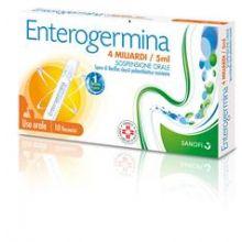 Enterogermina 10 Fiale Orali Da 4 Miliardi 5 ml 013046077 Fermenti lattici e intolleranza lattosio