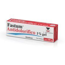 FASTUM ANTIDOLORIFICO* GEL 1% 100G  Pomate, cerotti, garze e spray dermatologici