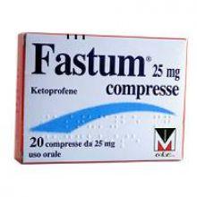 Fastum 20 Compresse 25 mg 023417090 Antinfiammatori