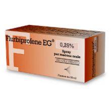 Flurbiprofene EG Spray Orale 15 ml Spray per la gola
