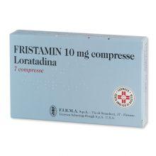 Fristamin 7 Compresse 10 mg 027076064 Antistaminici
