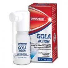 Gola Action Spray Orale 0,15%+0,5% 10 ml  Farmaci per mal di gola