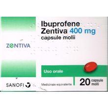 IBUPROFENE ZEN*20CPS MOL 400MG Ibuprofene