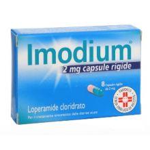 IMODIUM*8CPS 2MG Farmaci Antidiarroici