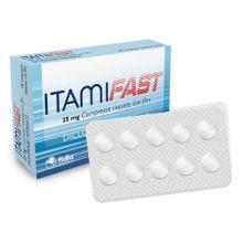 ITAMIFAST* 10 COMPRESSE RIVESTITE DA 25MG Pomate, cerotti, garze e spray dermatologici