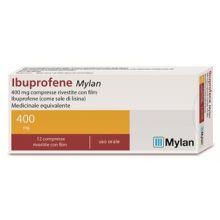 Ibuprofene Mylan 12 Compresse Rivestite 400 mg 042386348 Ibuprofene