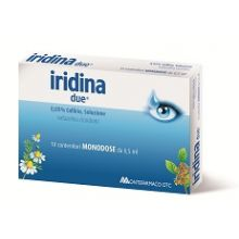 Iridina Due Collirio 10 Flaconcini 0,5ml Decongestionanti