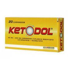 Ketodol 20 Compresse A Rilascio Modificato 25 mg + 200 mg 028561037 Farmaci Antinfiammatori