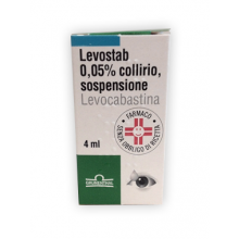 LEVOSTAB* COLLIRIO 0,5MG/ML FLACONCINO DA 4ML Decongestionanti