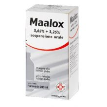 MAALOX*OS SOSP 200ML3,65+3,25% Antiacidi