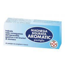 MAGNESIA BISURATA AROMATIC* 40 PASTIGLIE Antiacidi