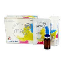 MAG 2* 20 COMPRESSE EFFERVESCENTI DA 2,25G Tonici, vitaminici e sali minerali