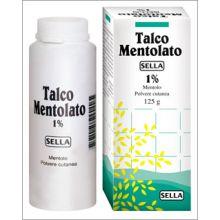 MENTOLO SELLA*1% 1FL 100G Lozioni e polveri per la pelle