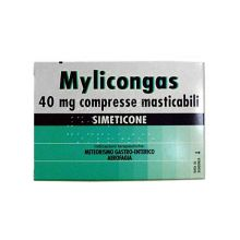 MYLICONGAS 50 COMPRESSE MASTICABILI 40 MG  Digestivi