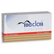 Meclon Crema vaginale 30g con 6 applicatori 20%+4% Creme vaginali
