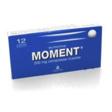 Moment 12 Compresse Rivestite 200 mg 025669019 Ibuprofene