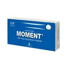 Moment 24 Compresse Rivestite 200 mg 025669072 Ibuprofene