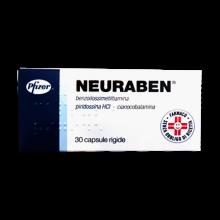 NEURABEN*30CPS 100MG Tonici, vitaminici e sali minerali