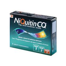 NIQUITIN*7CER TRANSD 7MG/24H Disassuefazione dal fumo