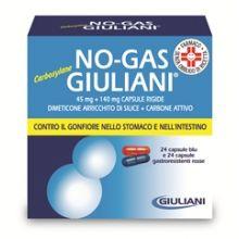 NOGAS GIULIANI CARBOSYL*48CPS Digestivi