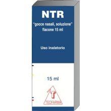 NTR Gocce Nasali 15 ml Farmaci Per Naso Chiuso E Naso Che Cola