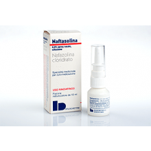 Naftazolina Spray Nasale 10 ml 0,2% 005408036 Farmaci Per Naso Chiuso E Naso Che Cola
