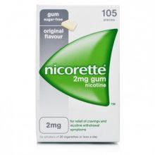 Nicorette 105 Gomme Masticabili Nicotina 2 mg Disassuefazione dal fumo
