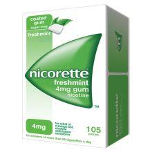 Nicorette 105 Gomme Masticabili Nicotina 4 mg Gusto Menta Disassuefazione dal fumo