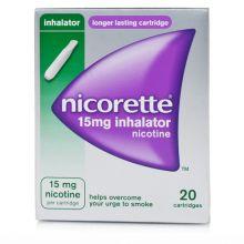 Nicorette 20 Flaconcini Soluzione Per Inalazione Nicotina 15 mg Disassuefazione dal fumo