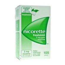 Nicorette 2 mg Nicotina 105 Gomme Da Masticare Gusto Menta Disassuefazione dal fumo