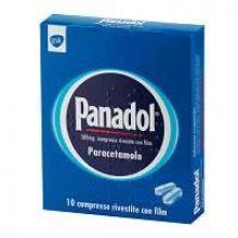 Panadol 10 Compresse Rivestite 500 mg 024931040 Paracetamolo