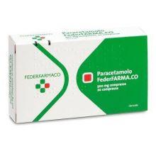 Paracetamolo Farmakopea 20 Compresse 500 mg 033167053 Paracetamolo