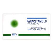 Paracetamolo Zeta 20 Compresse 500 mg 031349018 Paracetamolo