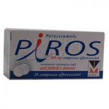 Piros 10 Compresse Effervescenti 500 mg 035854013 Paracetamolo