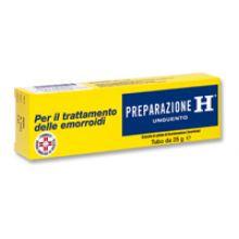 Preparazione H Unguento 1,08% 25 g Antiemmorroidari